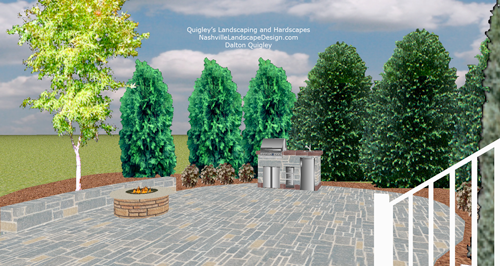Nashville tn landscape design in nolensville for Garden design nashville tn