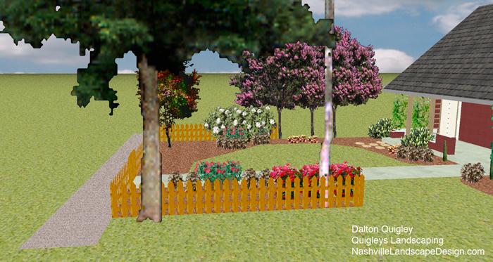 Nashville Garden Designer Dalton Quigley of Quigleys Landscaping.