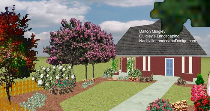 Tennessee Landscape Designer Dalton Quigley.