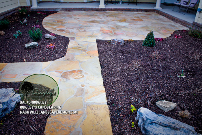 Landscape Design Courtyard-Stonework-Patios-Walkways-Boulders