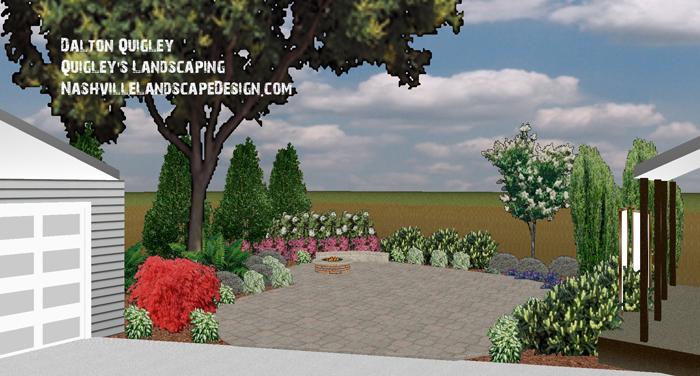Lush-Landscaped-Garden-Nashville-Landscaper-Designs