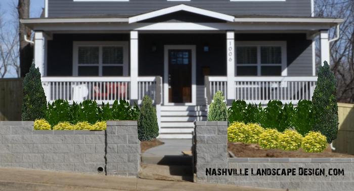 Nashville-Front-Yard-Modern-Landscape-Garden-Design