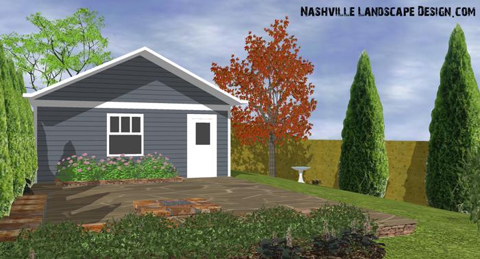 Nashville Landscape Designer Dalton Quigley does 3D Landscape Designs.
