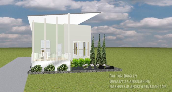 Modern xeriscape nashville landscape design services for Garden design nashville tn