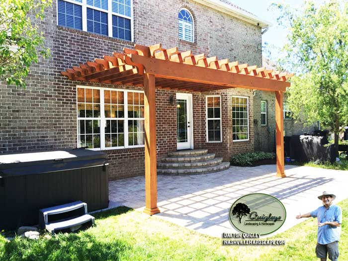 Nashville-Stained-Pergola