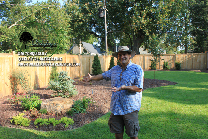 Backyard rockery landscape design nashville landscape for Garden design nashville tn