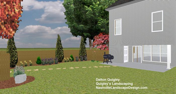 Nashville-Perennial-Garden-Boulder-Grass-Lillies