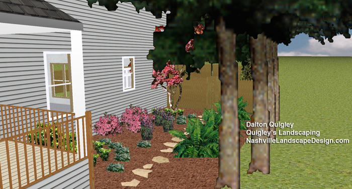 Side-Yard-Garden-Path-Ferns-Nashville-TN
