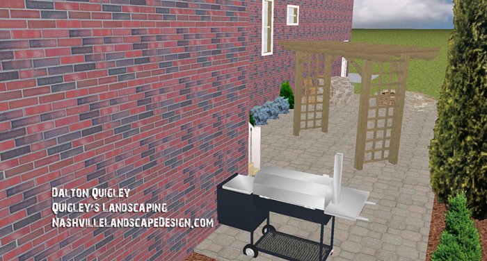 Side-yard-spring-hill-landscaping-patio