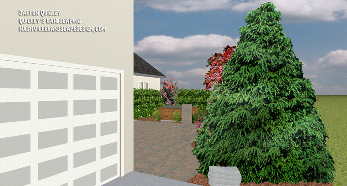 Entrance-Landscaping-to-patio-Design