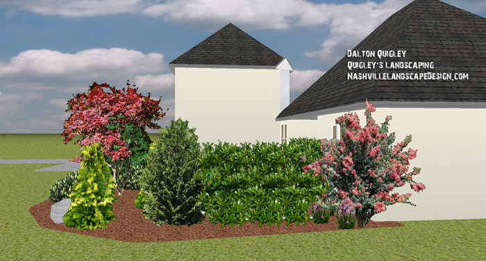 Nashville-Brentwood-TN-Privacy-Plantings