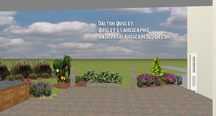 Patio-Landscape-Design-Fruit-Tree-Herb