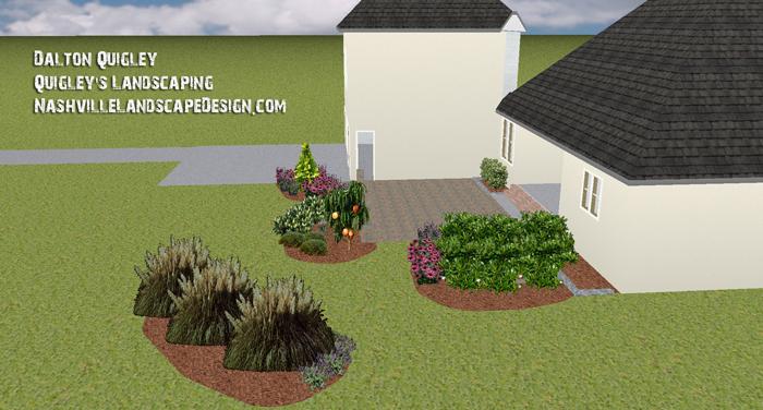 Tennessee-Landscaping-Hinoki-Cypress-garden