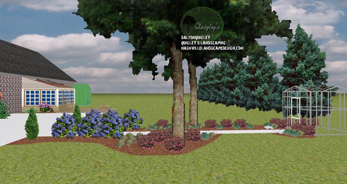 Colorful-shade-garden