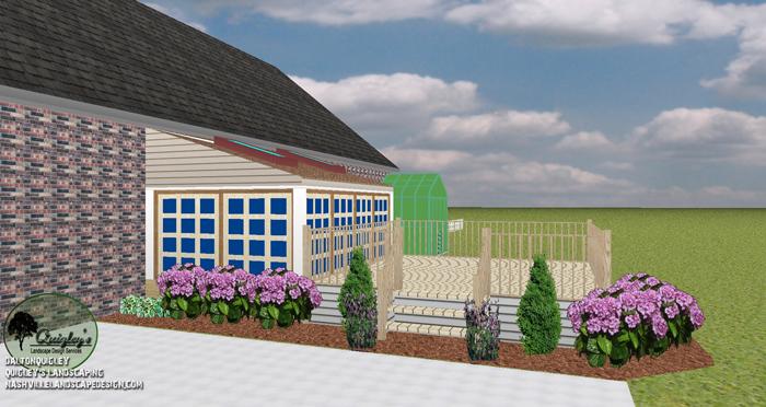 Deck Landscape Design Perennials Murfreesboro TNDeck Landscape Design Perennials Murfreesboro TN
