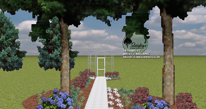 Hydrangea-Caladium-shade-landscaping