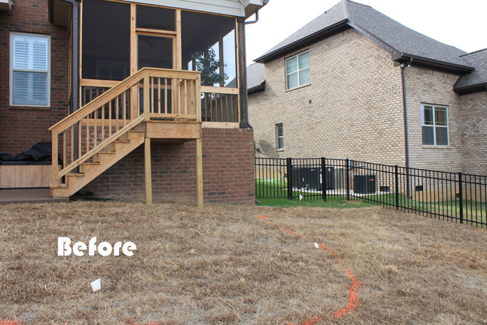 before-landscape-design-steps