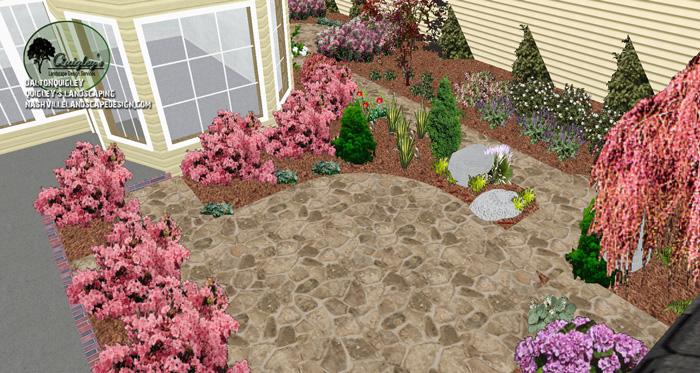 Brentwood-Courtyard-landscape-design