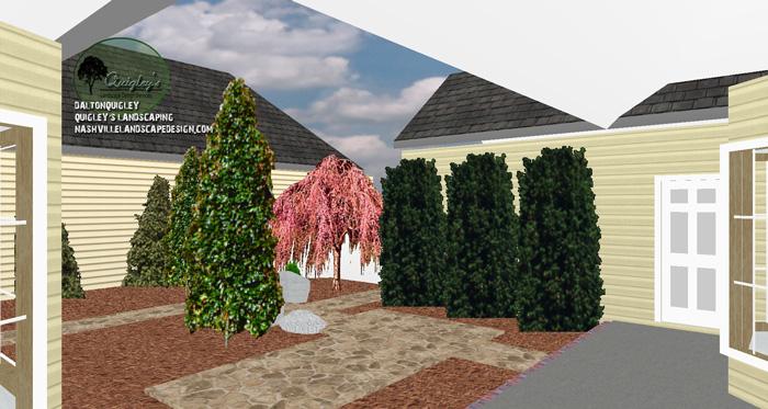 Courtyard-Landscape-Design-Franklin-TN