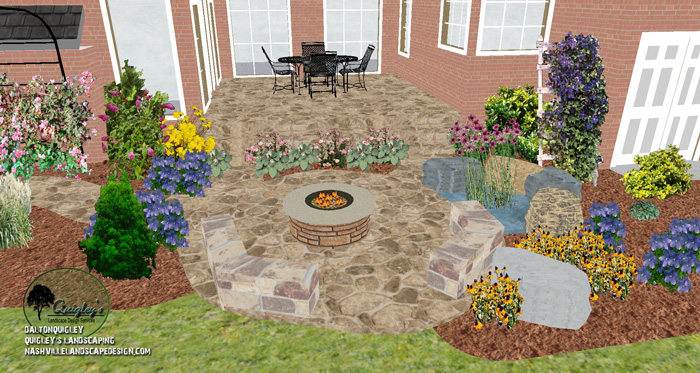 Franklin-TN-Fire-Pit-Patio-hardscapes