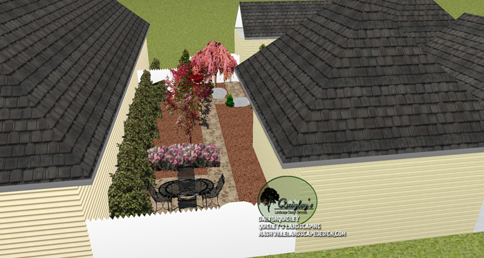 Franklin-TN-Privacy-landscape-courtyard
