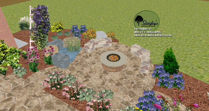 Franklin-TN-pond-garden-landscaping