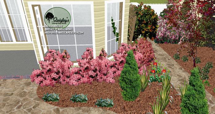 Nashville-azaleas-courtyard-garden