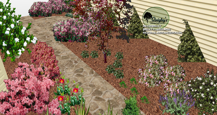 Spring-Hill-TN-Courtyard-landscape-design