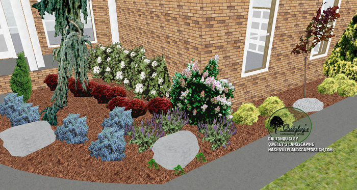 Landscaping company nolensville tn cheap landscaping for Spring hill nursery garden designs