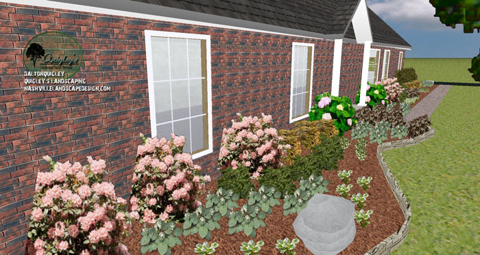 Landscaping Rock Johnson City Tn : Landscaping ideas for front of house tennessee home