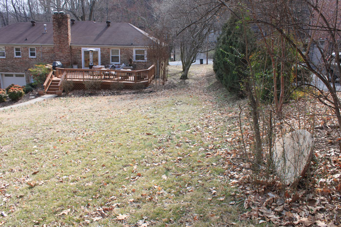 Nashville backyard retaining wall landscape design for Garden design nashville tn