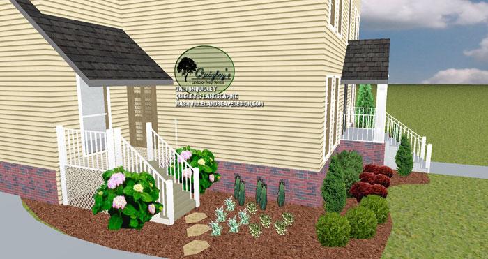 Front-Yard-Landscape-Design-in-Nashville-TN