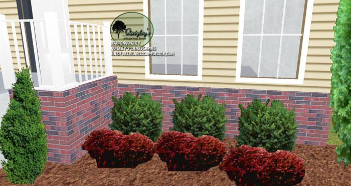 Nashville-Landscape-Designer-Barberry-Yews-Boxwood-Arborvitae