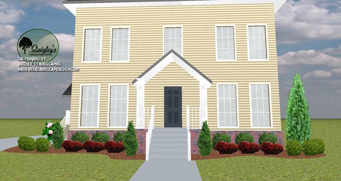 Nashville-Landscaper-Entrance-Balanced-Design