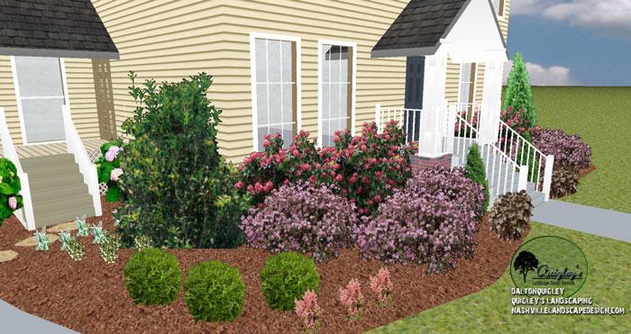 Nashville-Landscaping-Camellias-Loropetallum-Astilbe