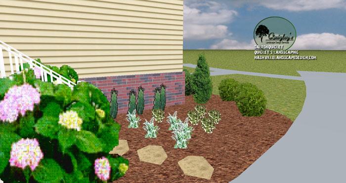Small-Side-yard-Landscape-Design-in-Nashville-TN