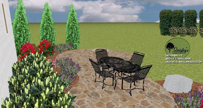 Brentwood Patios Stone Landscaping