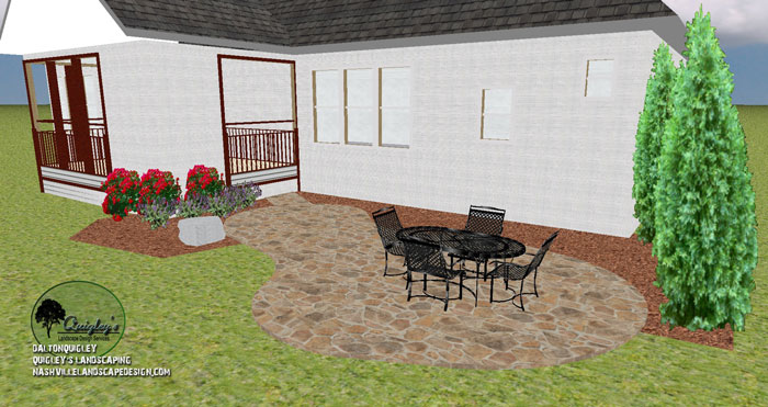 patio layout domestic furniture