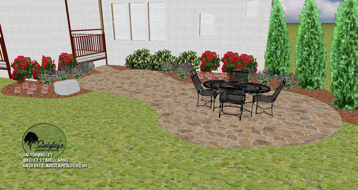 Brentwood tn patio design nashville landscape design for Garden design nashville tn