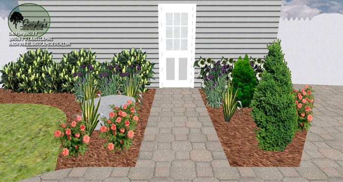 nashville landscaping with paver patio nashville