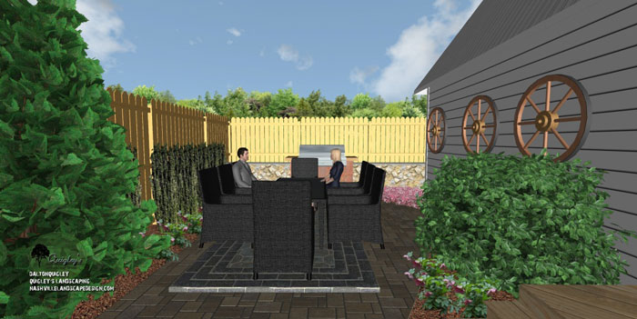 Nashville country modern landscape design nashville for Garden design nashville tn