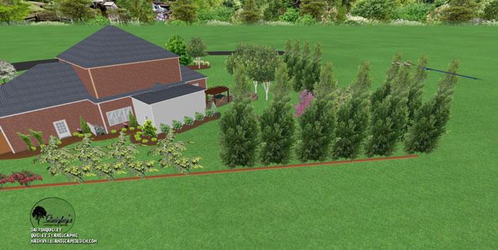 38, Landscape Design for outdoor rooms in Nashville, Spring Hill, Franklin, Brentwood, and Nolensville TN.