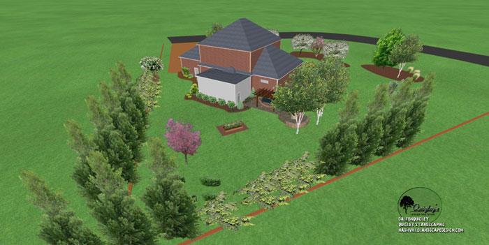 39, Landscape Design for outdoor rooms in Nashville, Spring Hill, Franklin, Brentwood, and Nolensville TN.