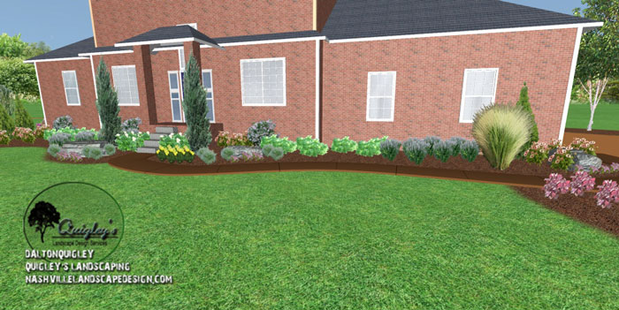 Franklin tn large lot landscape design nashville for Garden design nashville tn