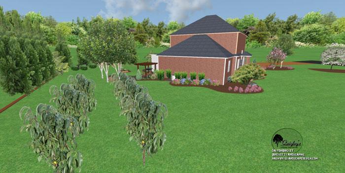 41, Landscape Design for outdoor rooms in Nashville, Spring Hill, Franklin, Brentwood, and Nolensville TN.