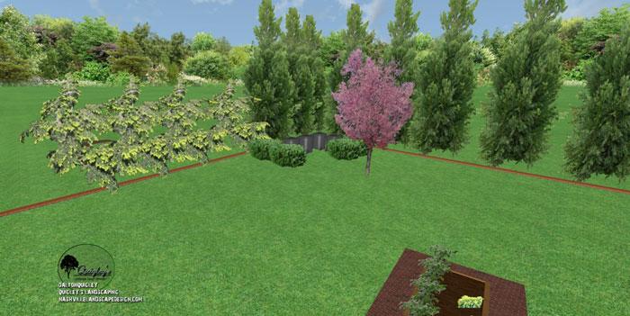 46, Landscape Design for outdoor rooms in Nashville, Spring Hill, Franklin, Brentwood, and Nolensville TN.