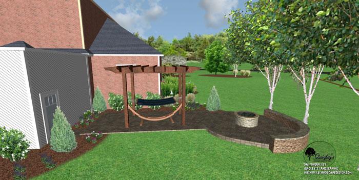 47, Landscape Design for outdoor rooms in Nashville, Spring Hill, Franklin, Brentwood, and Nolensville TN.