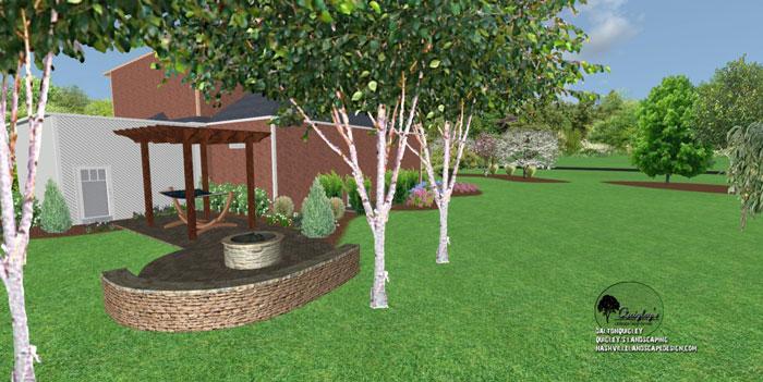 48, Landscape Design for outdoor rooms in Nashville, Spring Hill, Franklin, Brentwood, and Nolensville TN.
