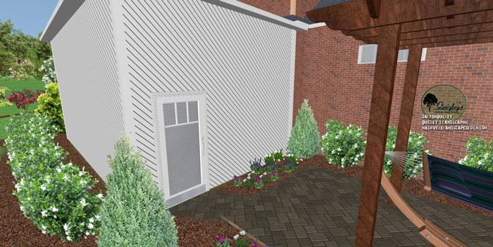 50, Landscape Design for outdoor rooms in Nashville, Spring Hill, Franklin, Brentwood, and Nolensville TN.