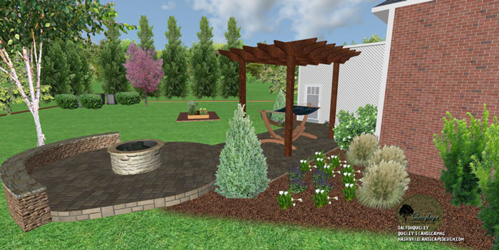 51, Landscape Design for outdoor rooms in Nashville, Spring Hill, Franklin, Brentwood, and Nolensville TN.